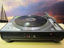 US Blaster USB 7329 Hybrid DJ-Plattenspieler mit CD-Player