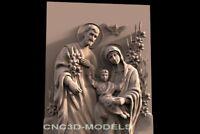 3D Model STL for CNC Router Engraver Carving Artcam Aspire Religion f540