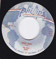 NEW REPRO Wild Rockabilly Grinder - Ken Cook - Crazy Baby - Phillips Int'l Hear