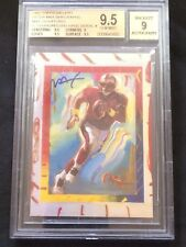 1997 Topps Gallery Steve Young Peter Max Serigraphs Max Autograph BGS 9.5/9 Auto