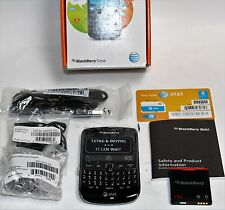 BlackBerry Curve 9360 8GB Black Unlocked AT&T Mobile 3G Smartphone New in Box