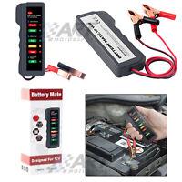 Tester para batería de 12V probador de alternador de coche moto indicador led