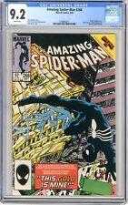 Amazing Spider-Man #268 CGC 9.2 NM- Wht pgs Cvr combines w/Web of Spidey #6