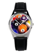 Billard Billardtisch Geschenk Fan Artikel Zubehör Fanartikel Uhr B-1971