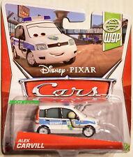 DISNEY PIXAR CARS WGP ALEX CARVILL SECURITY W+