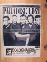 PARADISE LOST 12-10-2005 BOLOGNA  70X97 POSTER CONCERTO [MM 0334-A]