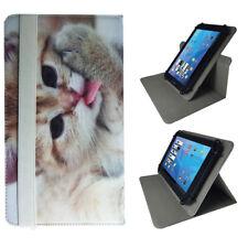Tablet Tasche Hülle für TrekStor Surftab breeze quad 3G 10.1 Zoll 360 Katze 2