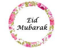 100 Eid Mubarak Stickers Floral Muslim Islam Ramadan Decorations Gift 208