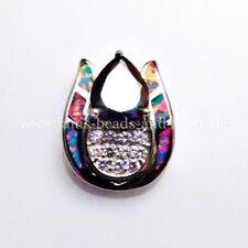 Echtschmuck-Halsketten & -Anhänger mit Opal und Tropfen für Damen