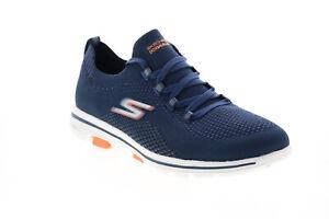 Skechers GO Walk 5 Uprise 124010 Womens Blue Mesh Athletic Walking Shoes