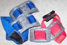 Scuba Diving Weight Belts Heavy Duty Web Belts & Lead Weights- Very Good Condtn