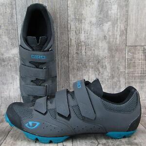 Giro Carbide R II Road Cycling Shoe Gray Mens 13.5 US / EU 48   2 or 4 bolt