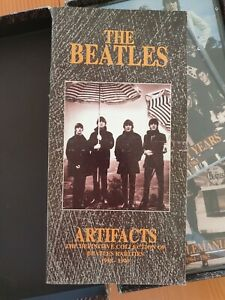 The Beatles Artifacts The Definitive Collection1958-1970 5 CD BOX SET with Book