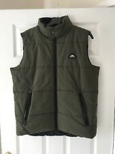 Mens Penfield Gilet Medium Olive body warmer great condition Patagonia