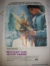 "BROTHER SUN SISTER MOON 1972 Original 27x41"" One Sheet Movie Poster F Zeffirelli"