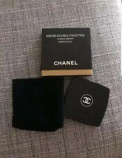 Chanel Paris black double facettes makeup mirror VIP EXCLUSIVE GIFT