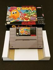 Q-Bert 3 - SNES Super Nintendo Game Qbert Complete Boxed NO Manual Nice!