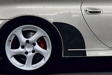 BLACK stoneguard set for Porsche 996 Carrera 4S genuine OEM quality stone guards