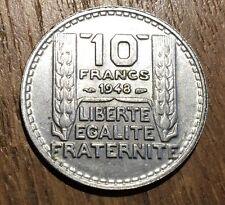 PIECE DE 10 FRANCS TURIN 1948 (132)