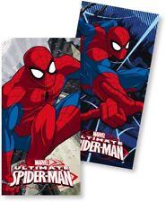 Marvel Spiderman Spider Man Spinne 1 x Badetuch Tuch Handtuch Strandtuch bla rot