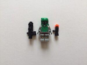 Lego Star Wars Boba Fett Minifigure sw0107 Printed Arms Legs Cloud City 10123