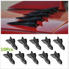 10 Pcs Universal Vortex Generator Shark Fin Jet Rear Roof Wing Spoiler Diffuser