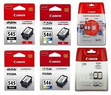 Original Canon TINTE PATRONEN PG-545 CL-546 XL PIXMA MG2550 MG2555 MX494 MX495