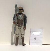 1982 Vintage Star Wars Lando Calrissian Skiff Guard Action Figure Complete NOCOO