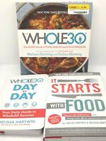Lot of 3 - The Whole30 Cookbook, Day by Day Journal, It Starts With Food
