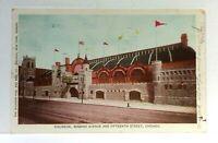 C. 1907 Chicago Illinois Coliseum Wabash Ave & 15th Street UDB Vintage Postcard