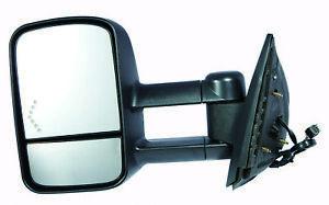 Door Mirror LH/Drive Fits 07 10 Chevrolet Silverado 1500 Silverado 2500 HD