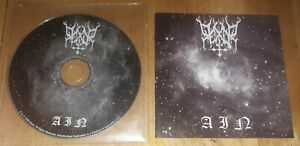 REXOR 'AIN' CD 2008 *DISC & BOOKLET ONLY* black metal watain marduk dimmu borgir