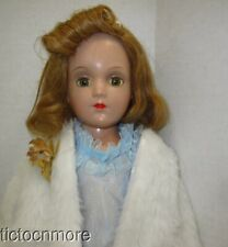 "Vintage Arranbee R & B Debu'Teen Rosalie Doll Green Sleepy Eye Blonde 18"""