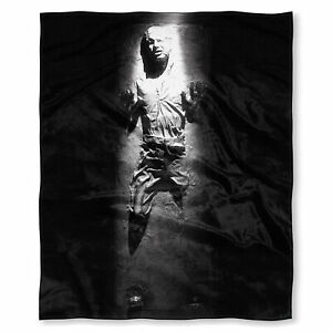 """Star Wars Han Solo in Carbonite Silk Touch Throw Blanket 50"""" x 60"""""""