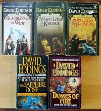 DAVID EDDINGS -  FANTASY PAPERBACK LOT