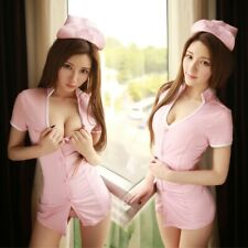 Sexy Women Nurse Uniforms Lingerie Fancy Dress Sets Outfit Party Costume Cosplay