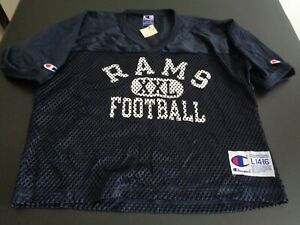LOS ANGELES RAMS Football CHAMPION Vintage Practice Style Youth LARGE Jersey NEW
