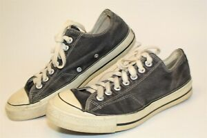 Converse Vintage Chuck Taylor All Star USA Made Mens 8.5 Canvas Sneakers Shoes