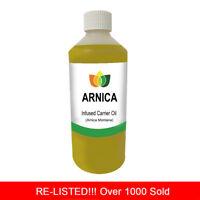 1L ARNICA OIL PREMIUM Cold Pressed Natural Carrier/Base 1 Litre