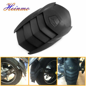 Rear Wheel Extension Fender Cover Splash Guard Mudguard Trim For Yamaha Kawasaki