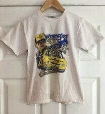 Vintage Dale Earnhardt Wrangler Jeans Tough Customer T-Shirt Size Youth Med