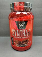 BSN Syntha-6 Chocolate Milkshake Protein Powder Drink Mix 2.91LB 28 Servings