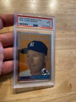 Mickey Mantle PSA 9 MINT 1996 Topps Finest #8 Collector Card Man Cave Yankees NR