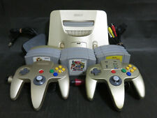 Nintendo 64 Gold (Memory Expansion ver.) + 12 games (Donkey Kong, Mario) set