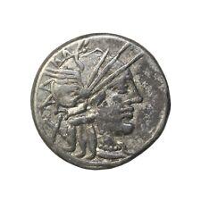 Ancient Roman Republic Silver Denarius Cn. Carbo 121 BC Sydenham-415