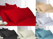 Linge de lit et ensembles gris contemporains en satin de coton