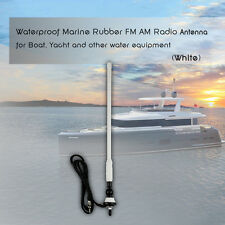 Car Boat Radio Antenna Rubber Duck Dipole Flexible Marine FM AM Radio Antenna
