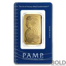 Gold Bar PAMP Lady Fortuna - 1 oz
