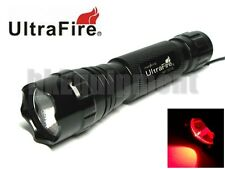 Ultrafire WF-501B Cree RED LED Flashlight Torch 6v 6p G2