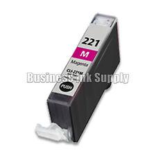 1 MAGENTA CLI-221 Canon CLI-221M CLI-221 M CLI 221 CLI221 Ink Cartridge NEW CHIP